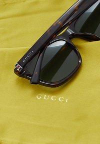 Gucci - Sunglasses - havana/light blue - 5