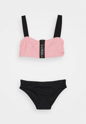 UPTOWN GIRL SET - Bikini - black