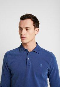 Marc O'Polo - LONG SLEEVE - Polo shirt - navy peony - 3