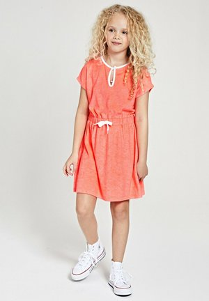 Day dress - fluo red