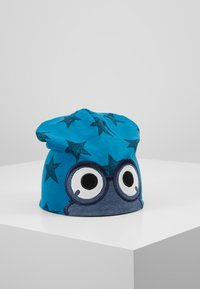 Fred's World by GREEN COTTON - STAR PEEP BEANIE - Pipo - deep blue - 0
