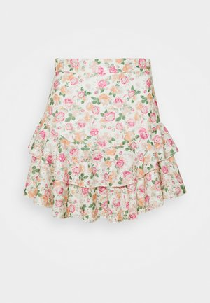 TATIANA SKIRT - A-line skirt - light pink/multi-coloured