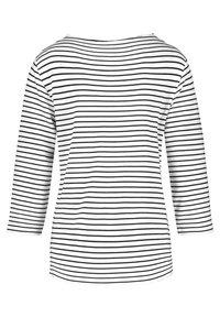 Gerry Weber - Long sleeved top - ecru/weiss/blau ringel - 4