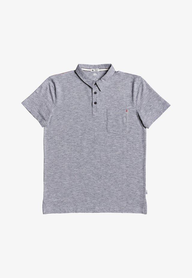 SUN CRUISE STRETCH - Polo shirt - dark grey heather