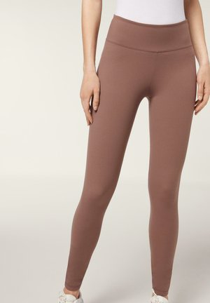 Leggings - Trousers - cappuccino