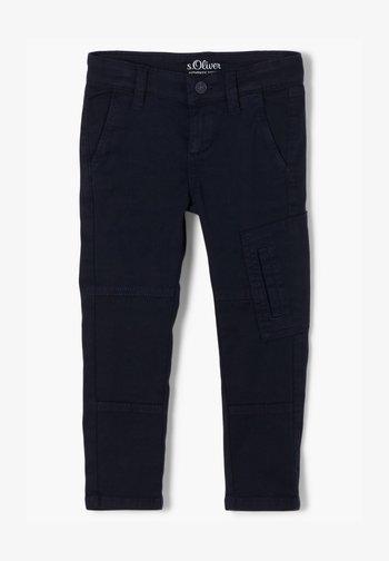 SLIM FIT SKINNY  - Trousers - dark blue