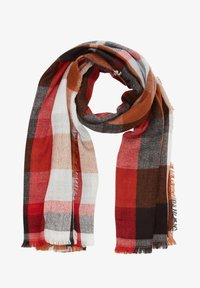 s.Oliver - Scarf - brown check - 2