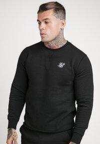 SIKSILK - SIKSILK CREW - Sweatshirt - black - 0