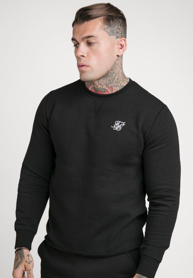 SIKSILK - SIKSILK CREW - Sweatshirt - black