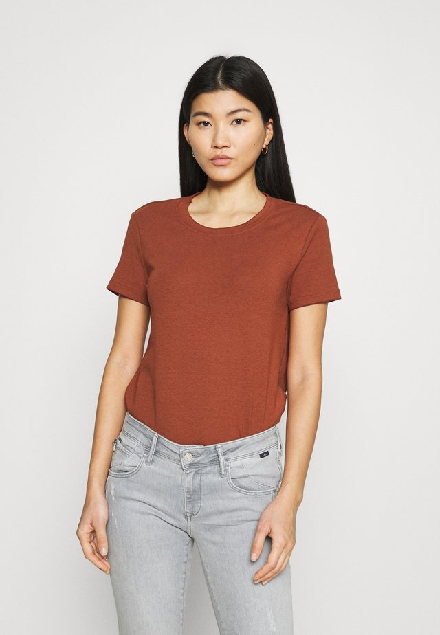 Basic T-shirt - dark red
