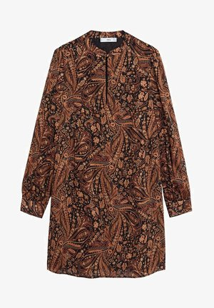 OSLO - Day dress - marron