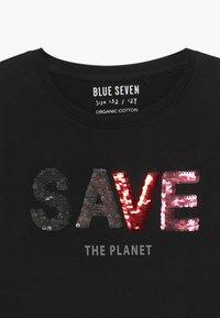 Blue Seven - TEENS GIRLS HAVE FUN FLIP SEQUIN - Longsleeve - schwarz - 3