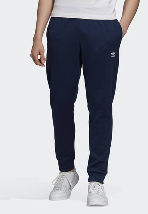 TREFOIL ESSENTIALS TRACKSUIT BOTTOM - Tracksuit bottoms - blue