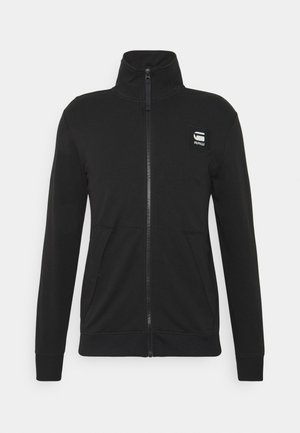 ZIP THROUGH TRACK TWEETER L\S - Veste de survêtement - black