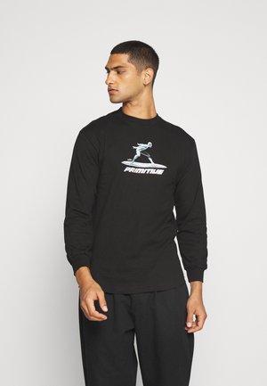 SURFER TEE - Top sdlouhým rukávem - black