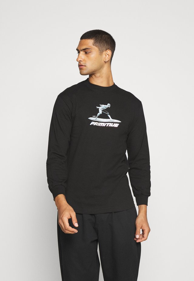 SURFER TEE - Topper langermet - black