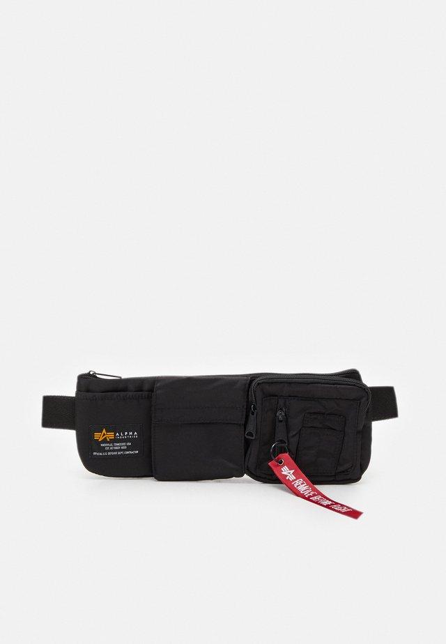 CREW UTILITY BAG UNISEX - Bum bag - black