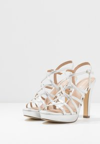 Menbur - High heeled sandals - silver - 4
