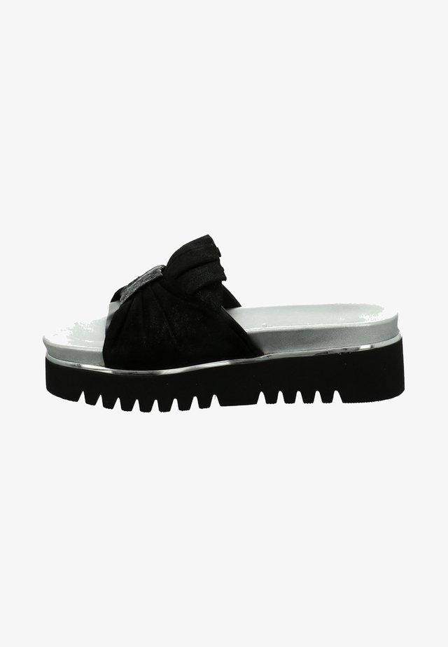PARIS  - Platform sandals - black