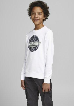 JORLEFO - Sweater - white