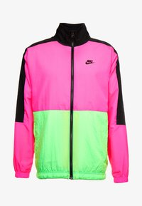 black/hyper pink/scream green