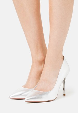 GRACE - High Heel Pumps - silver
