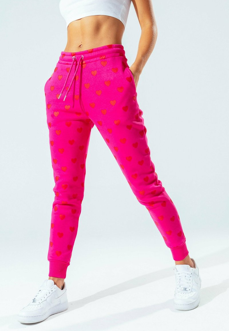 Hype - Tracksuit bottoms - pink