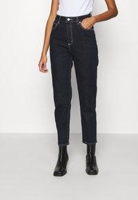 Abrand Jeans - HIGH - Slim fit jeans - mercury - 0