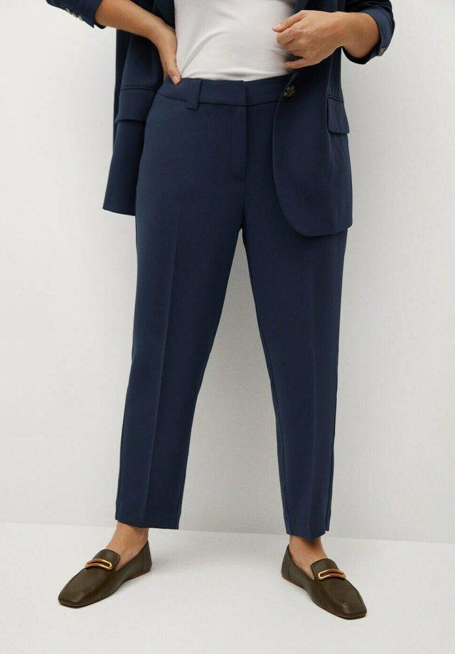 LEONOR8 - Trousers - dunkles marineblau