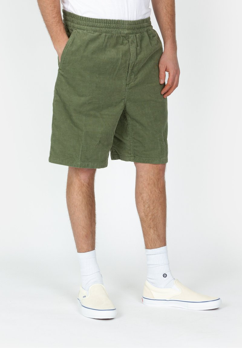 Carhartt WIP - Shorts - mottled dark green