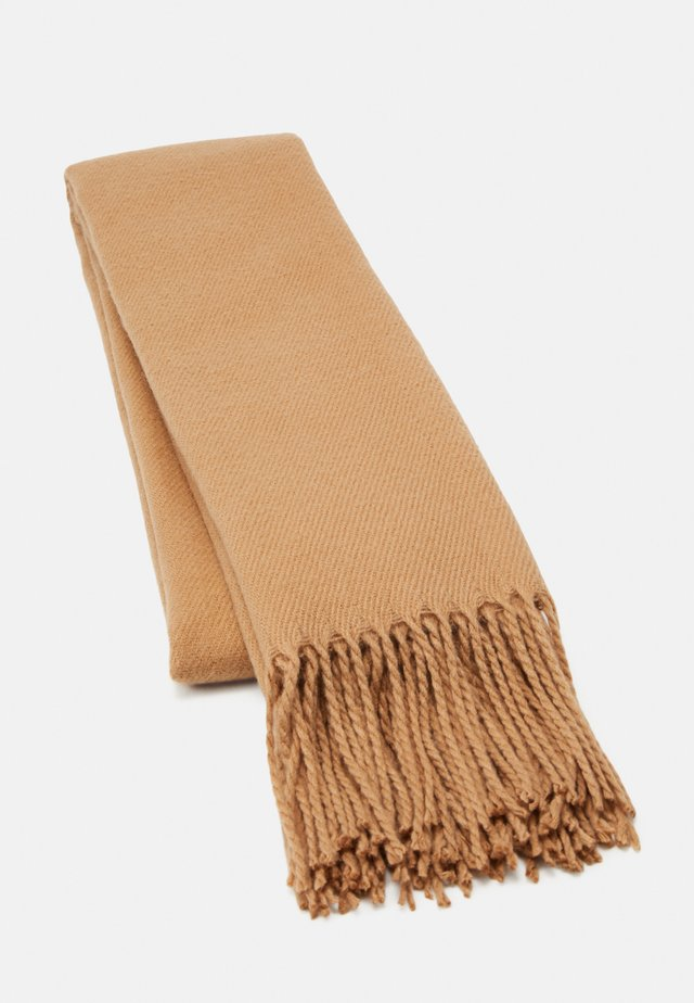 VMSOLID LONG SCARF COLOR - Scarf - tan