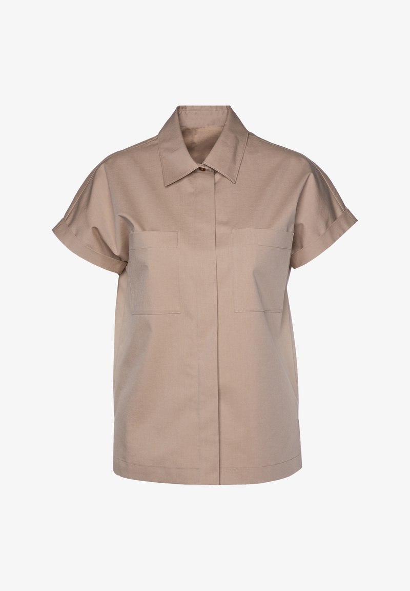 BOSS - Button-down blouse - beige