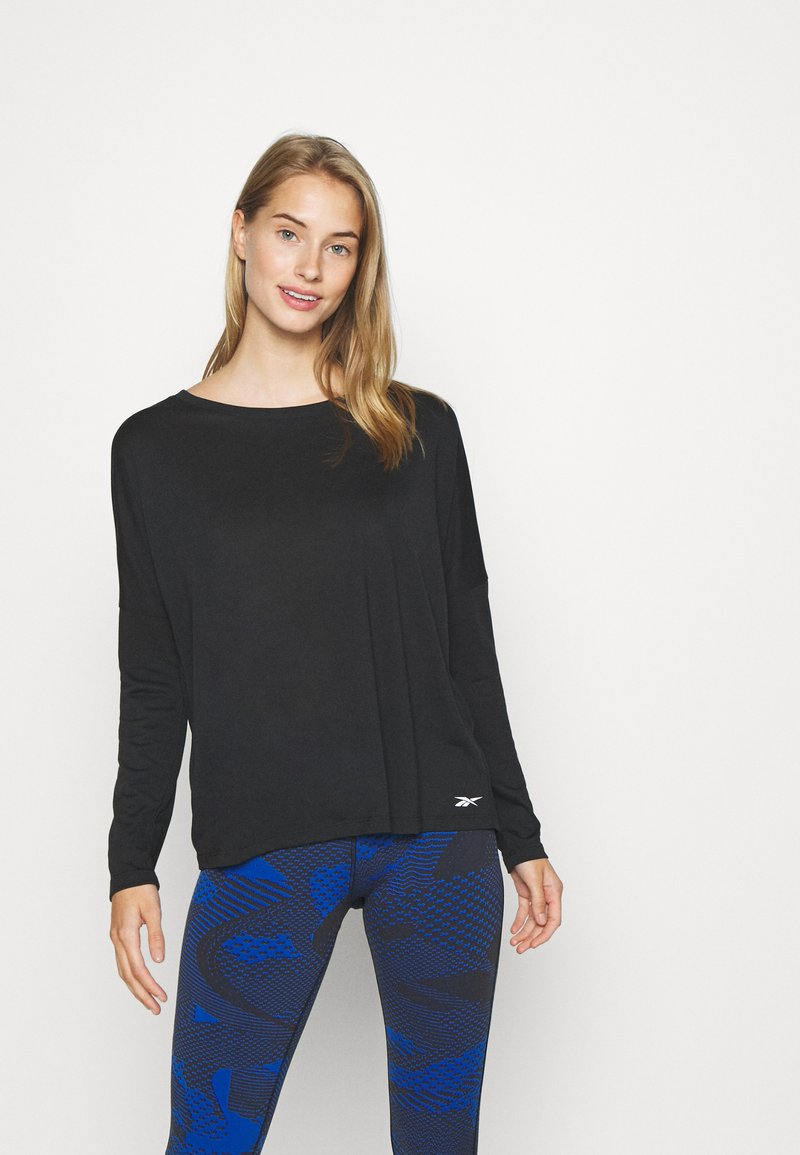 Reebok - SUPREMIUM LONG SLEEVE - Funkční triko - black