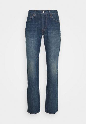 511™ SLIM  - Jeansy Straight Leg - dark indigo - worn in