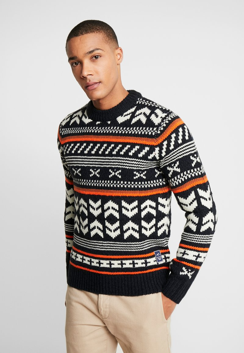 Jack & Jones - JORWINTER CREW NECK - Jumper - tap shoe
