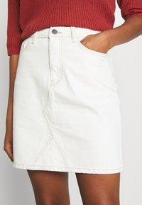 Object - GLORIA TWILL - Mini skirt - sandshell - 3