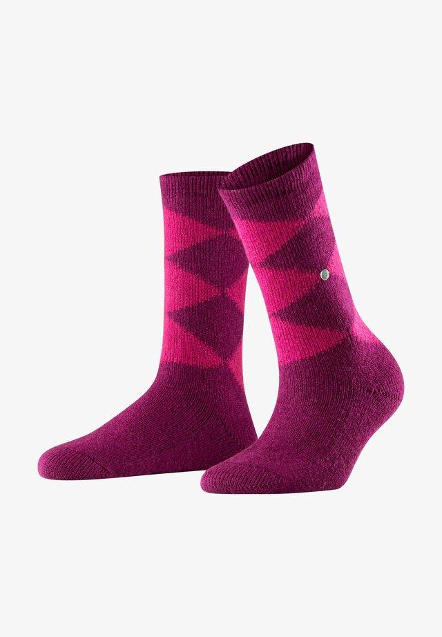 COSY ARGYLE - Socks - classico