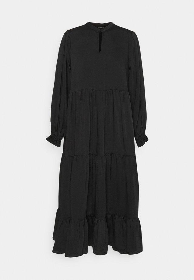 EMILLEH RAVEN DRESS - Maxi-jurk - black