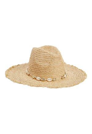 SHELL TRIM FLOPPY - Hat - beige