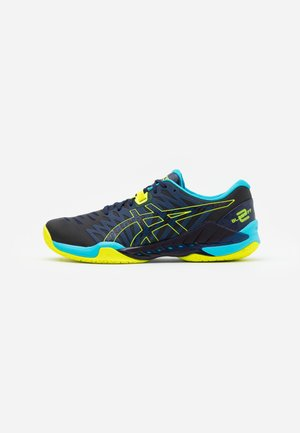 BLAST FF - Zapatillas de balonmano - peacoat/safety yellow