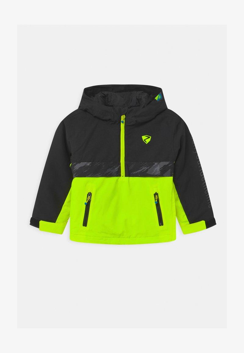 Ziener - ABSALOM UNISEX - Snowboard jacket - poison yellow