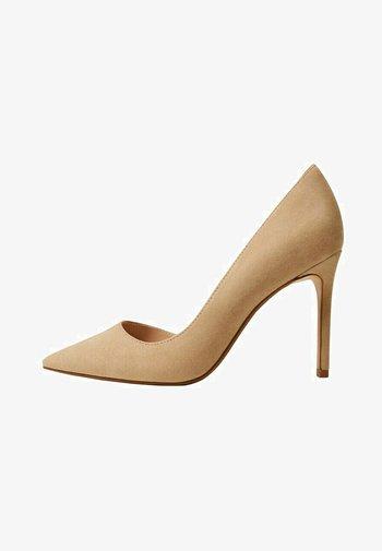AUDREY - Zapatos altos - sable