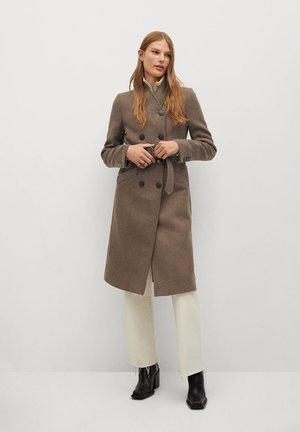 LUNA - Płaszcz wełniany /Płaszcz klasyczny - kaffeebraun