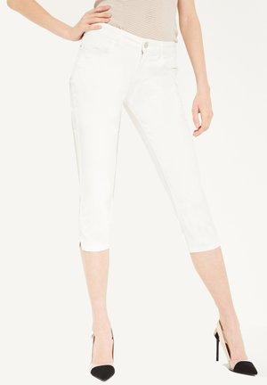 CAPRI AUS TWILL - Trousers - white