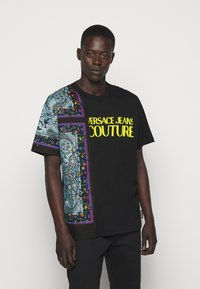 Versace Jeans Couture - MARK - Print T-shirt - nero - 0