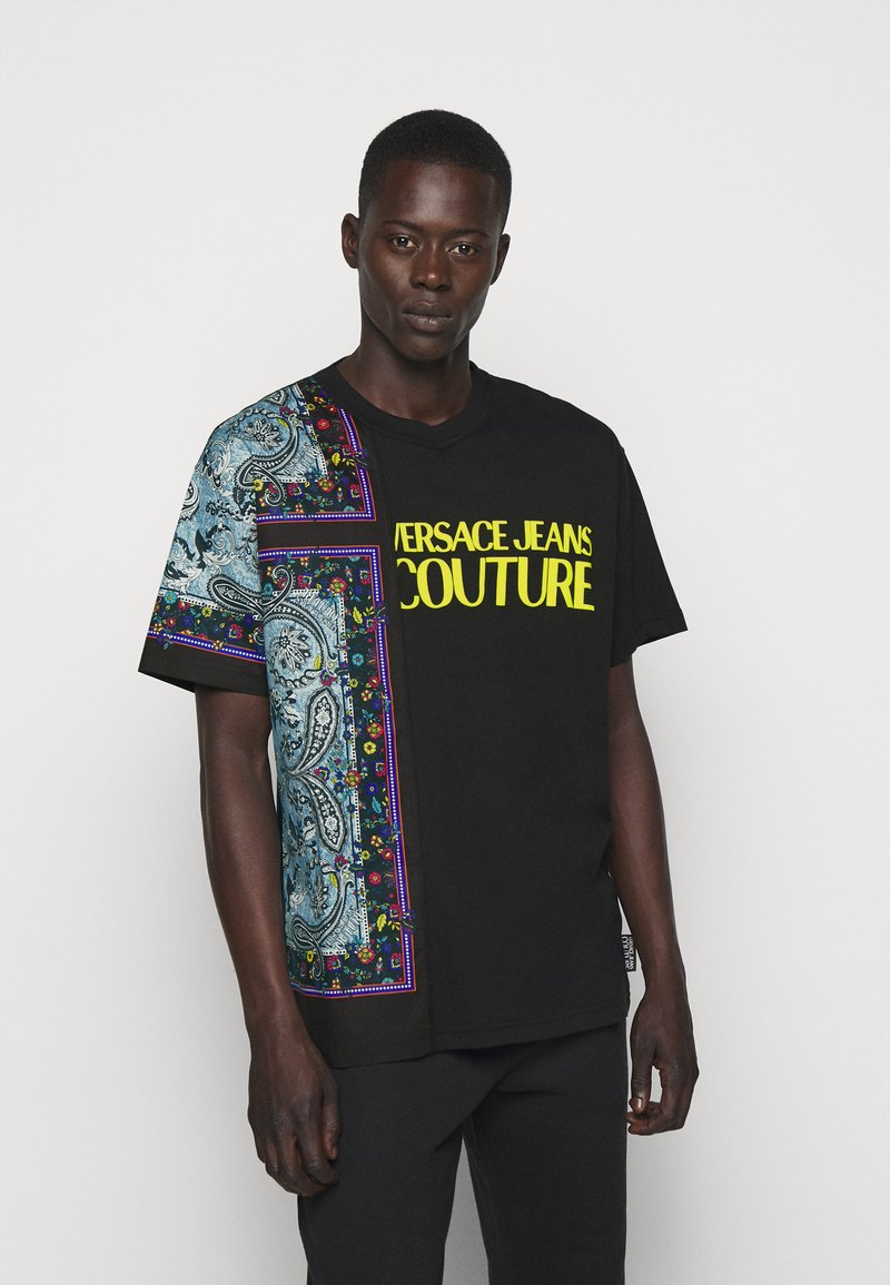 Versace Jeans Couture - MARK - Print T-shirt - nero