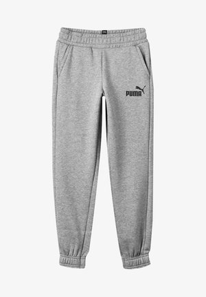 ESS LOGO SWEAT PANTS FL CL B - Tracksuit bottoms - medium gray heather