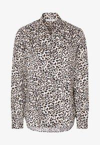 Eterna - MODERN CLASSIC - Button-down blouse - beige/black - 3