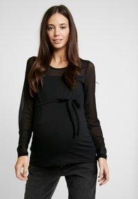 MAMALICIOUS - MLMATILDA - Long sleeved top - black - 0