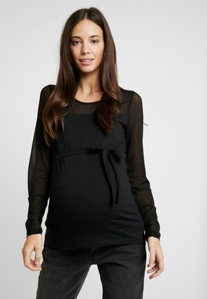 MLMATILDA - Langærmede T-shirts - black